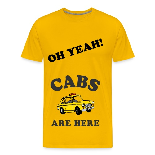 Jersey Shore Cabs Are Here - Men's Premium T-Shirt