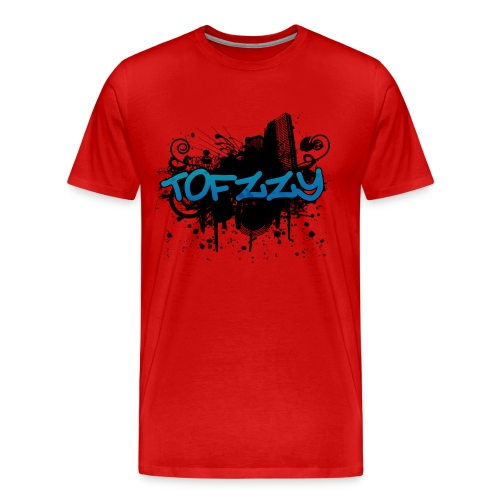 Tofzzy Splat + Name - Men's Premium T-Shirt