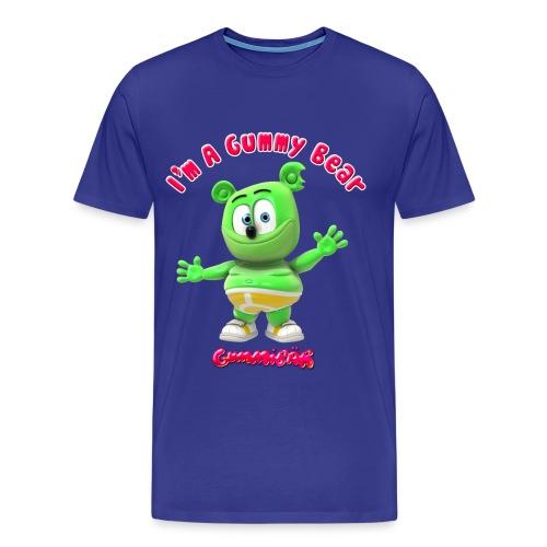 I'm A Gummy Bear Men's 3XL & 4XL T-Shirt - Men's Premium T-Shirt