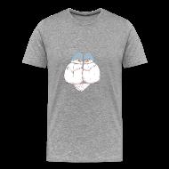 T-Shirts ~ Men's Premium T-Shirt ~ Love Birds - Men's 3XL & 4XL