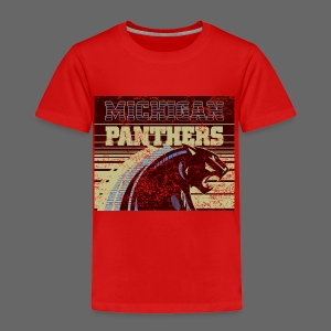 Michigan Panthers - Toddler Premium T-Shirt