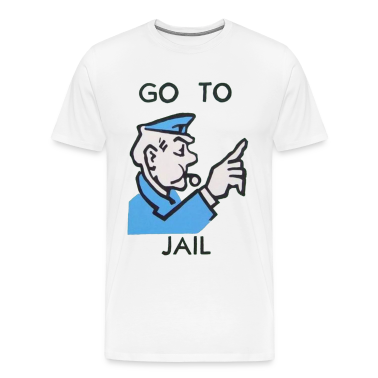 Go To Jail Tee