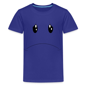 Kids - Sad Face - Kids' Premium T-Shirt