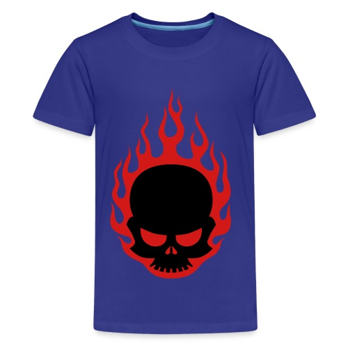 Cavens skull shirt - Kids' Premium T-Shirt