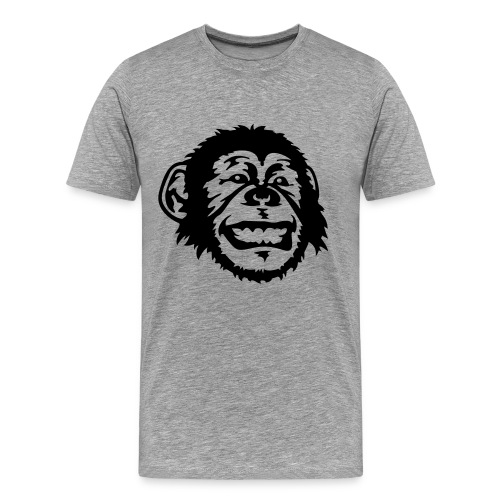 Monkey Face (Men's) - Men's Premium T-Shirt