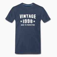 VINTAGE 1998 - Birthday T-Shirt WN