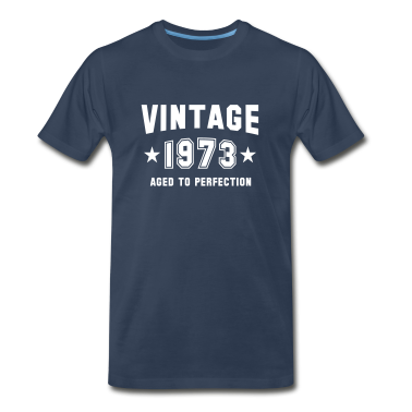 VINTAGE 1973 - Birthday T-Shirt WN
