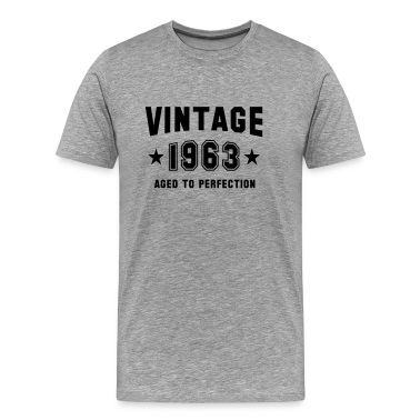 VINTAGE 1963 - Birthday T-Shirt BH
