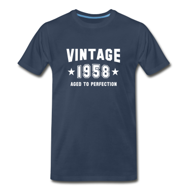 VINTAGE 1958 - Birthday T-Shirt WN