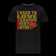 T-Shirts ~ Men's Premium T-Shirt ~ I use to love H.E.R.  001