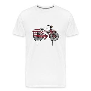 Men's Premium T-Shirt - big adventure,che,graffiti,graffitti,grafitti,icon,iconic,pee wee,pee wee herman,pee wees,peewee,playhouse,spray paint,spraypaint,tim burton
