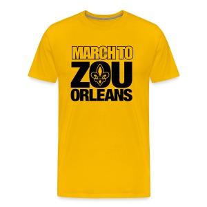 March to Zou Orleans - Men's Premium T-Shirt