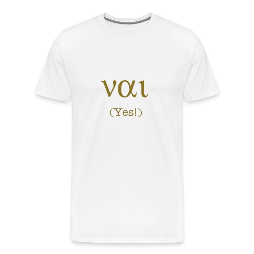 NE! (Yes!) - Men's Premium T-Shirt