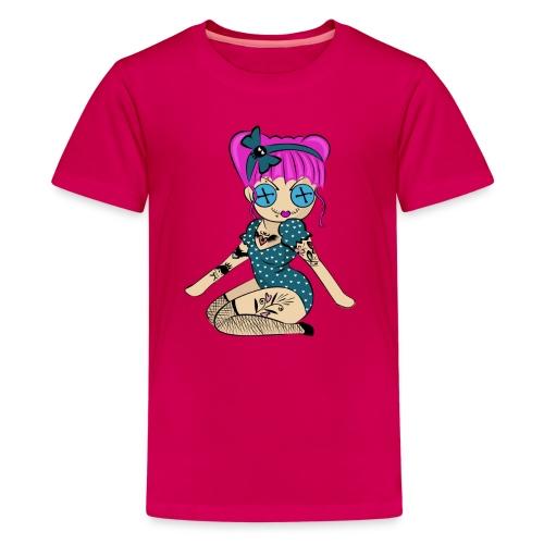 Kid TShirt Doll Logo - Kids' Premium T-Shirt