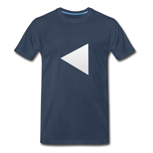 TechSmartt Triangle T-Shirt - Men's Premium T-Shirt