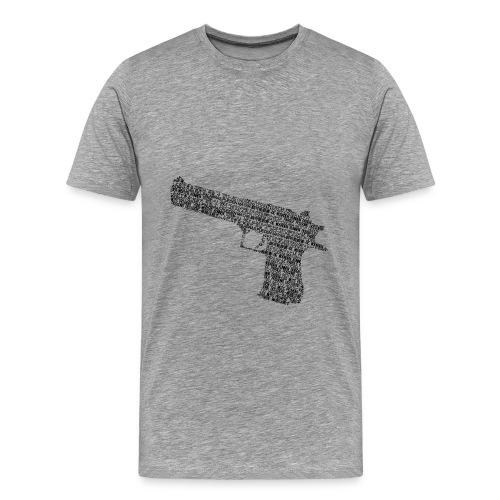 words kill - Men's Premium T-Shirt