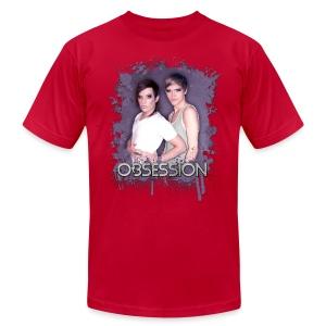 Obsession - Splatter (pink) Tee - Men's Fine Jersey T-Shirt
