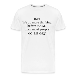 INFJ Men's 80s  Army Parody - Men's Premium T-Shirt