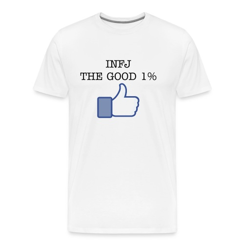 Men's INFJ one percenter - Men's Premium T-Shirt