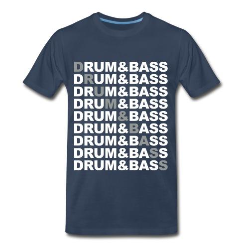 Drums and bass - Men's Premium T-Shirt
