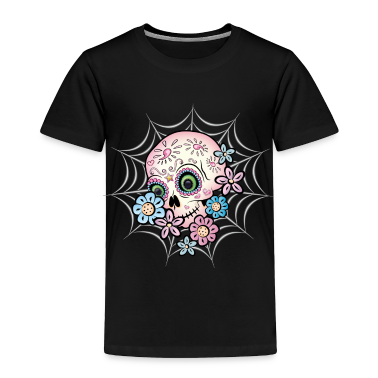 Sweet Sugar Skull Toddler Shirts