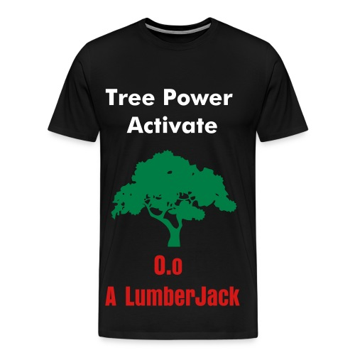 Tree Power T-Shirt - Men's Premium T-Shirt
