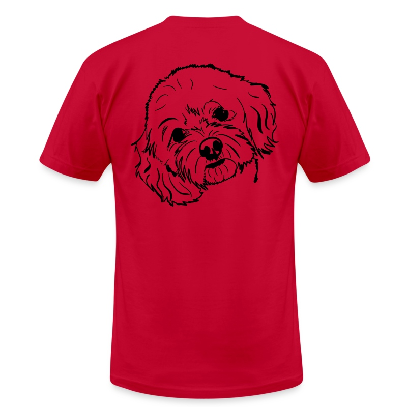 Cockapoo - Men's T-Shirt by American Apparel