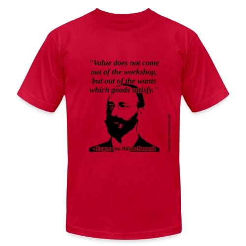 Bohm-Bawerk - Subjective Value - Men's Fine Jersey T-Shirt