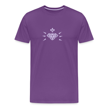 diamond with fleur de lis (1c) T-Shirts