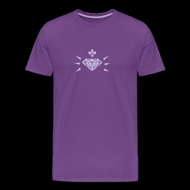diamond with fleur de lis (1c) T-Shirts