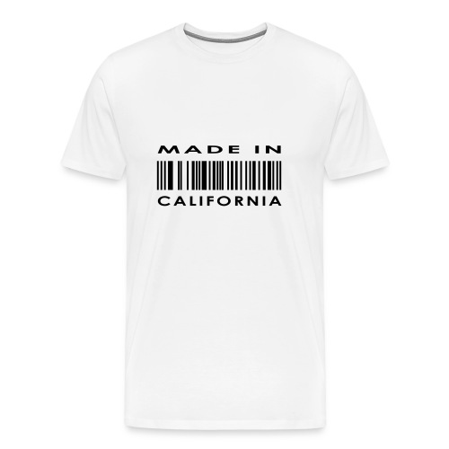 Made in CA t-shirt - Men's Premium T-Shirt