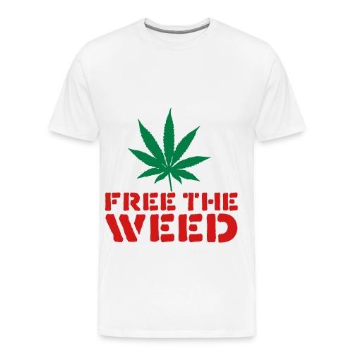 Free The Weed (Serial Spitterz) Shirt - Men's Premium T-Shirt