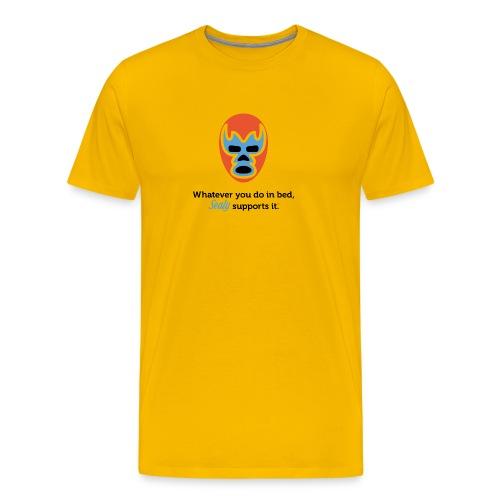 Lucha Libre Mask - Men's Premium T-Shirt