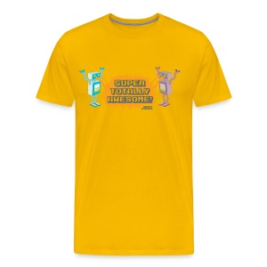 Robot Fight! - Men's Premium T-Shirt