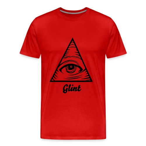 All Seeing In Red - Men's Premium T-Shirt