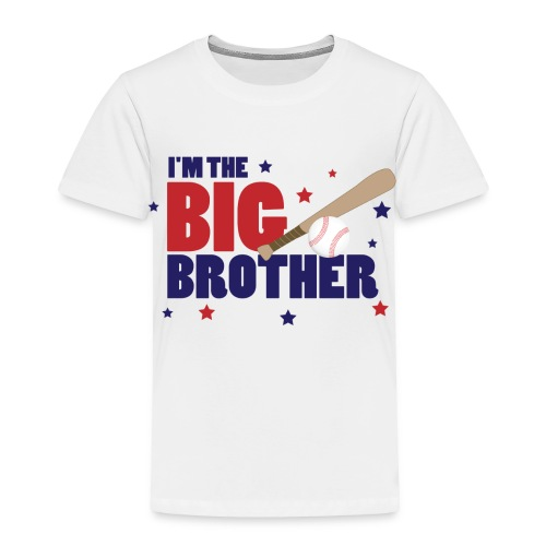 Boy's Big Brother Toddler Tee - Toddler Premium T-Shirt