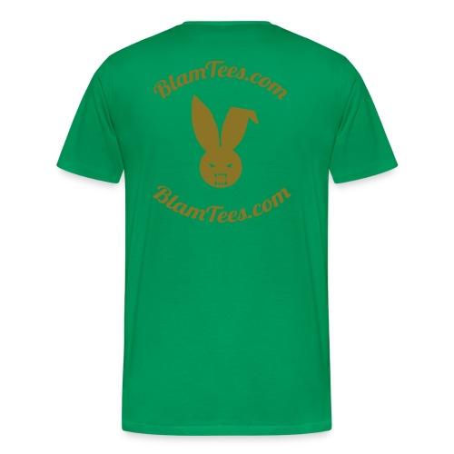 Tribute - TebOWNED Crucifix - Mens T-Shirt - Men's Premium T-Shirt