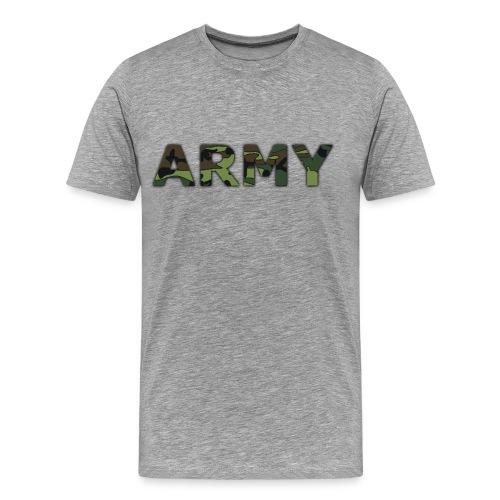 Men's Camo Army Tee - Men's Premium T-Shirt