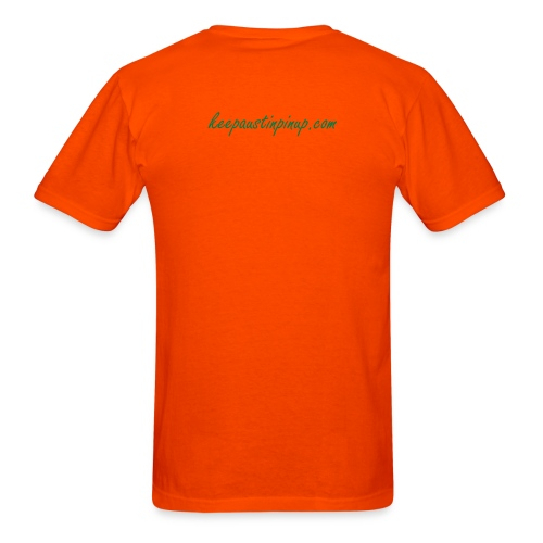 KAP Men's Orange T - Beard - Men's T-Shirt