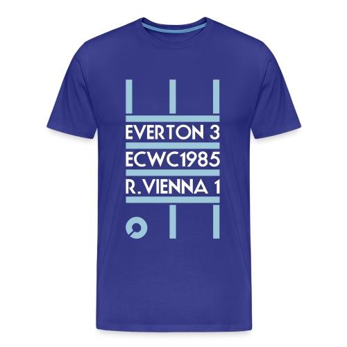 Men's 'Movement' ECWC t-shirt (blue) - Men's Premium T-Shirt