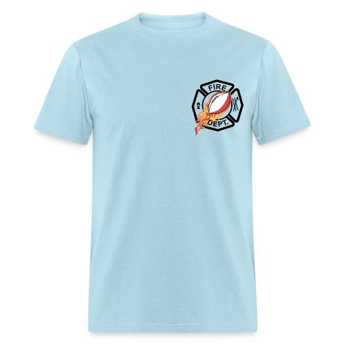 Fireman Logo - for light shirts - Men's T-Shirt