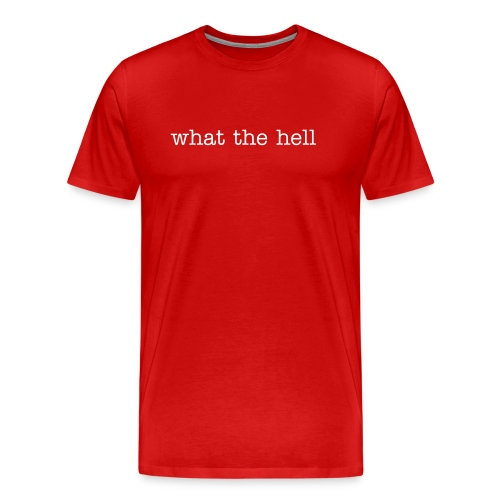 wth - Men's Premium T-Shirt