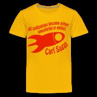 Kids' Shirts ~ Kids' Premium T-Shirt ~ All Civilizations - Carl Sagan
