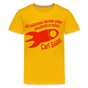 All Civilizations - Carl Sagan - Kids' Premium T-Shirt