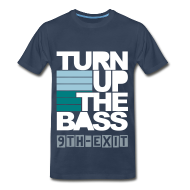 T-Shirts ~ Men's Premium T-Shirt ~ Turn Up The Bass