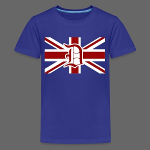 Detroit British Flag - Kids' Premium T-Shirt