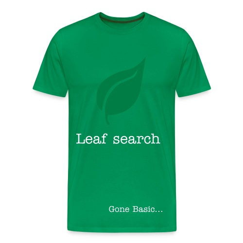 Leaf search - Men's Premium T-Shirt