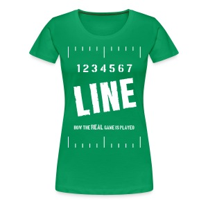 Marching Band 7 Line (women's plus size) - Women's Premium T-Shirt