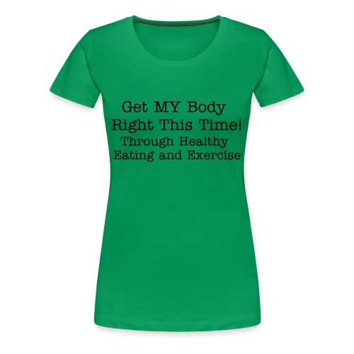 GMBRTT! - THE&E - Front Only - Women's Plus - Women's Premium T-Shirt