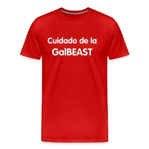 Beware of the GalBEAST - Men's Premium T-Shirt